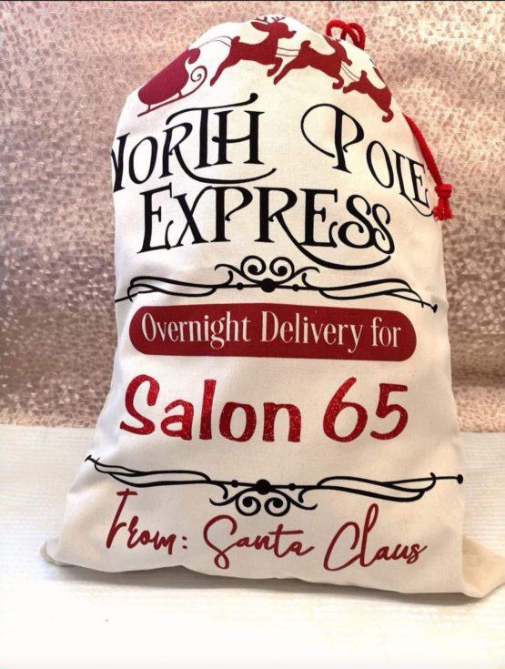 Christmas Santa Sacks – North Pole Express