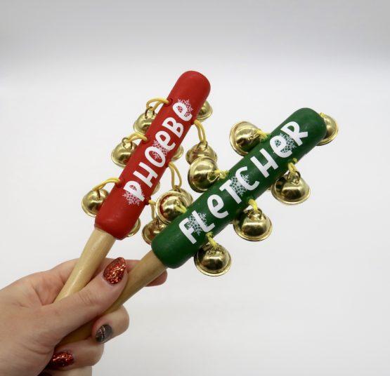 Personalised Christmas Jingle Bells