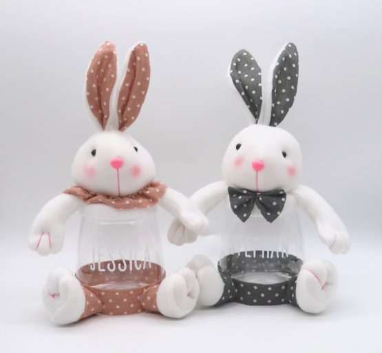 Large Easter Bunny Sweet Jars