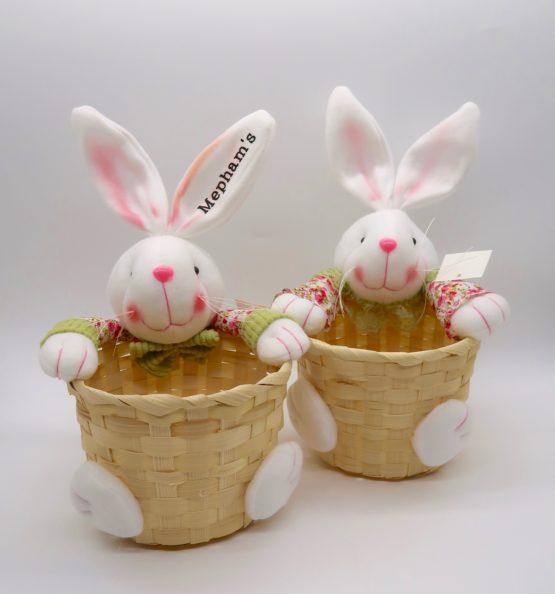 Personalised Wicker Easter Basket