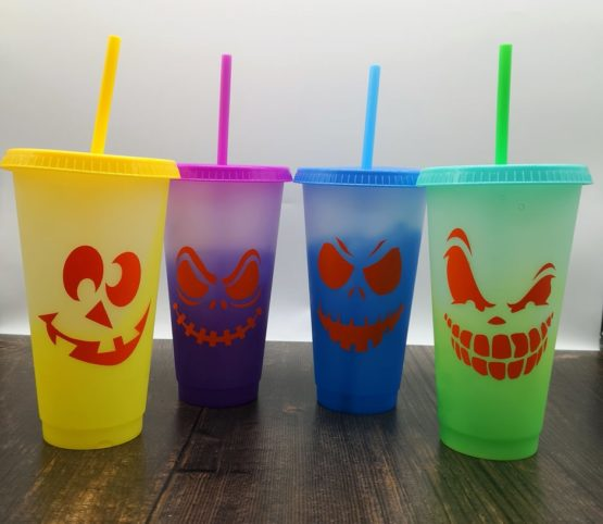 Halloween Colour Changing Cups