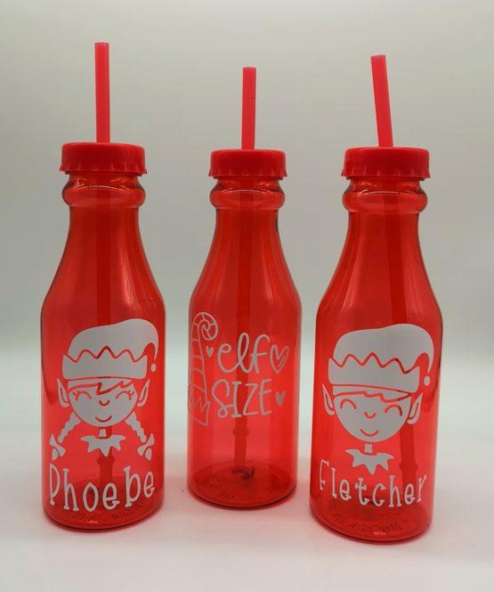 Personalised Christmas Milk Bottle