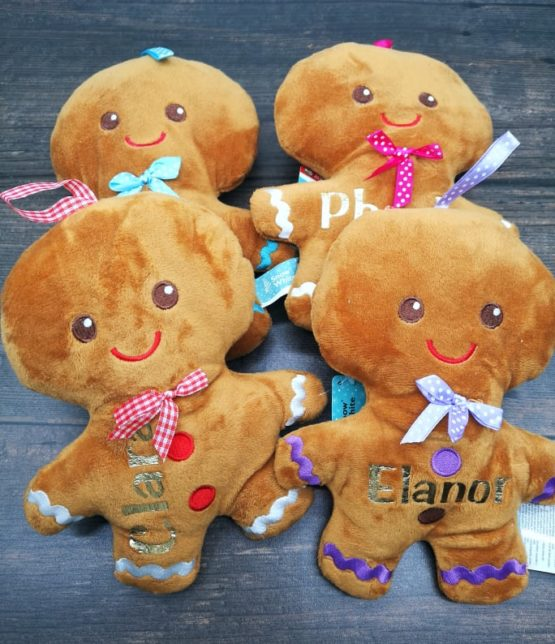 Personalised Gingerbrean Man Decoration